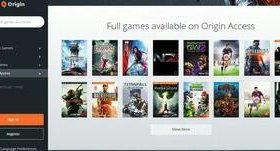 Игры от Origin
