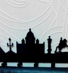 Санкт-Петербург. Вешалка настенная.Крючки на стену
