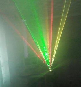 Лазер для дискотек ; Дому или в Бар .