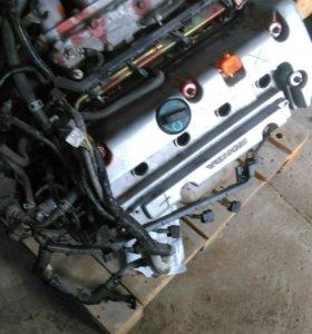 Двигатель Honda Odyssey к24а