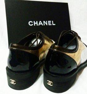 Ботинки Chanel 💫🖤💫