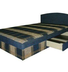 Кровать 120 Экко-Мебель образец 3