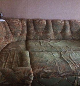 Диван угловой с креслом