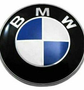 Эмблема БМВ на капот 82 мм.