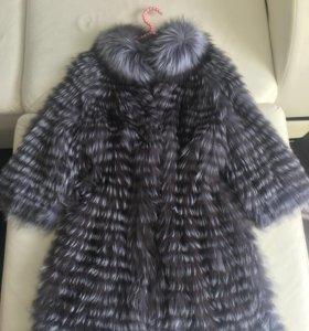 Пальто из чернобурки!