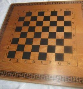 Шахматы,шашки и нарды в одном