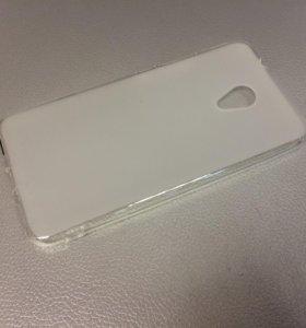 Чехол Meizu M5s матовый/белый