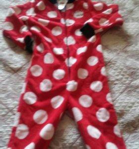 Детская пижама-комбинезон, новая.