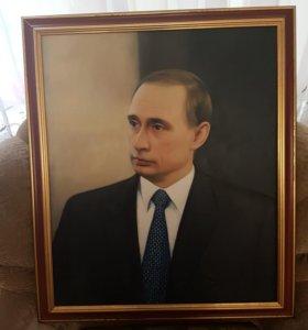 картина Путин В.В