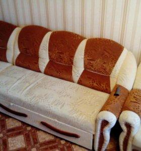 Продам диван с креслом