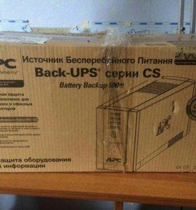 Источник бесперебойного питания APC BK500-RS, 500