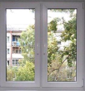 Окна, балконные рамы.REHAU