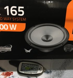 Компонентая акустика 165 мм новая