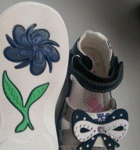 Детские сандали нат.кожа новые размеры разные