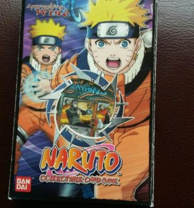 Карты игральные NARUTO Approacging Wind