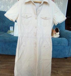 Платье (а-ля сафари)