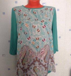 Кофта, блуза 50-52, лонгслив