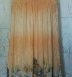 Платье в пол - размер М