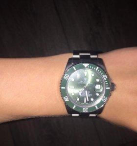 Мужские часы rolex submariner халк