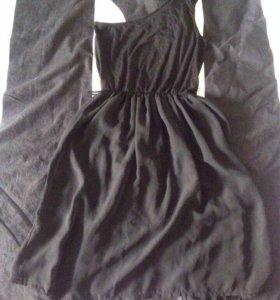 Платье  на одно плечо waggon