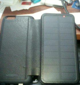 Чехол для айфон 6. С солнечными батареями