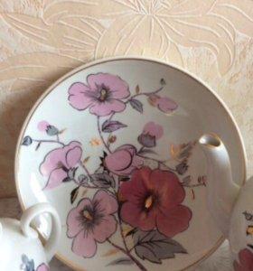 Чайный сервиз Розовая ветвь