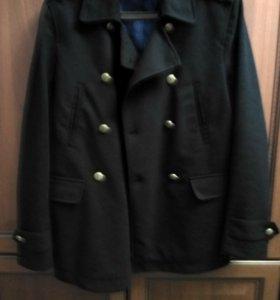 Стильное пальто-пиджак zara, р.46-48