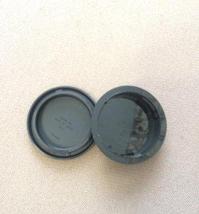 Крышка от Canon вместо объектива