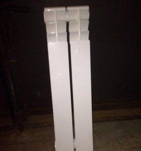 Алюминиевый радиатор 2 шт