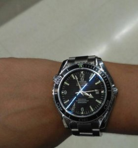 Часы Omega seamaster чёрный 007