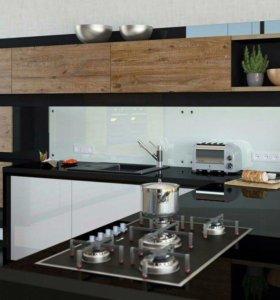 Кухня шпон