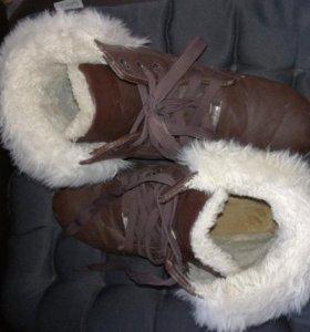 Ботинки 40 р-р.