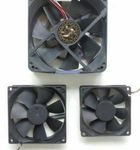 Вентиляторы разных размеров