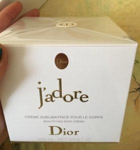 Душистый крем для тела Dior J'adore
