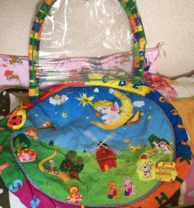 Детский коврик без игрушек
