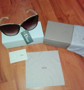 Очки Dior с чехлом