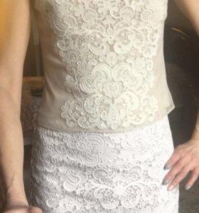 Karen Millen кружевной костюм