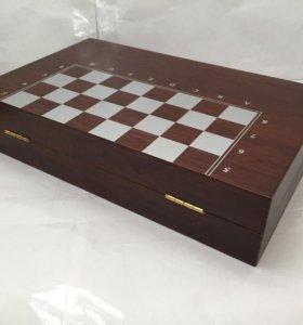 Набор для вина, шахматы, шашки, нарды