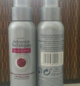 Спрей для волос с УФ-фильтром