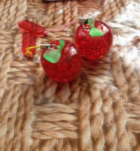 3D яблоко