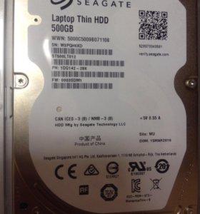 ⭐новый! ️HDD 500GB, жесткий диск для ноутбука