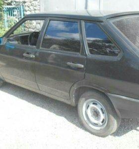 Ваз21093 чёрный миталик 2000г