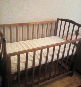 Продам  детская кроватку!!!