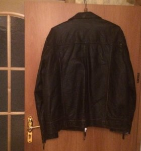 Кожаная куртка 60 размера