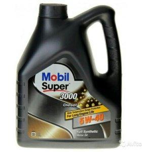 Масло mobil 1 5w-40 diesel