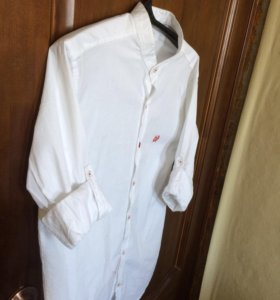 Белая рубашка скидка 50%