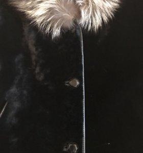 Шуба НОВАЯ чернобурка