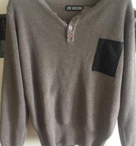 Укорочённый свитер Love Moschino