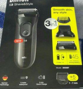 Электробритва BRAUN S3 Shave&Style