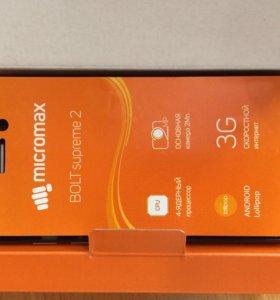 Телефон Micromax новый